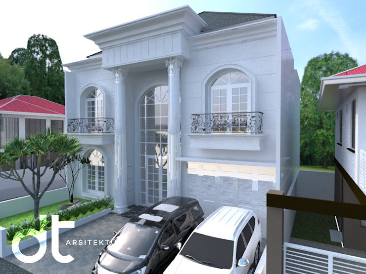 Modern houses by Rumah Desain Tropis Modern