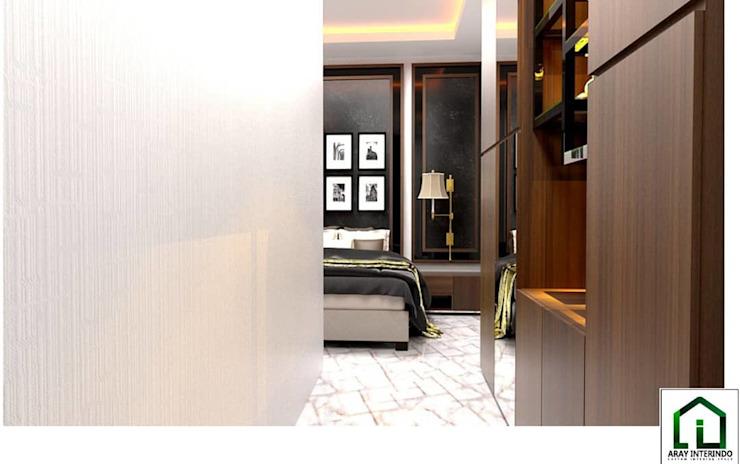 design interior bedroom 2 at kota legenda cibubur Oleh Aray Interindo