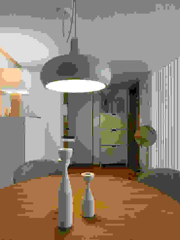 Sala | Depois Salas de jantar escandinavas por MUDA Home Design Escandinavo