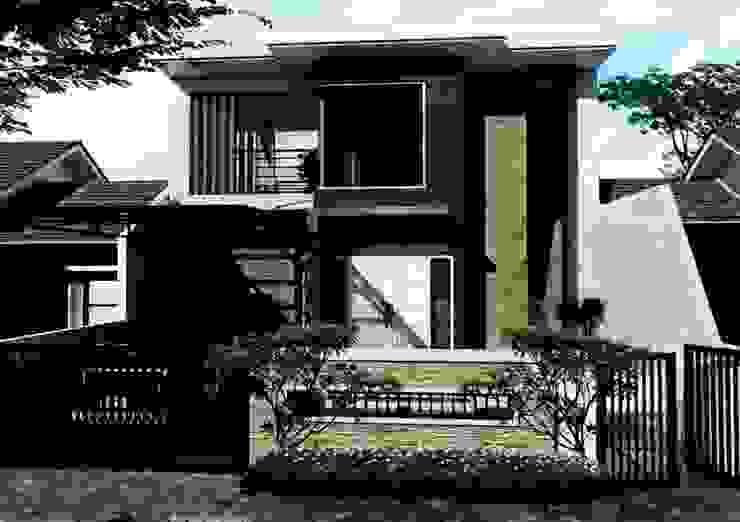 design dan renovasi fasade at grand tomang tanggerang Oleh Aray Interindo