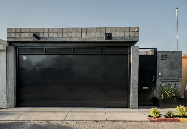 homify Single family home Concrete Grey