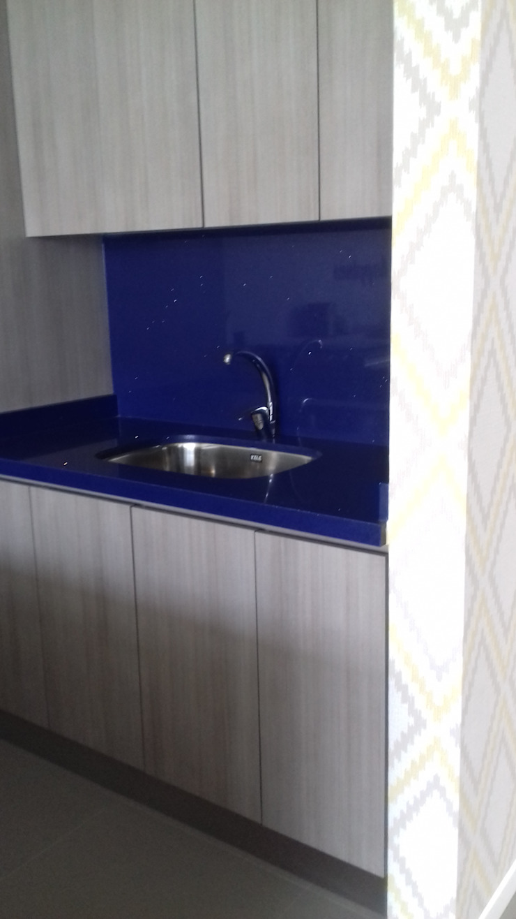 bellacocinas KitchenBench tops Quartz Blue