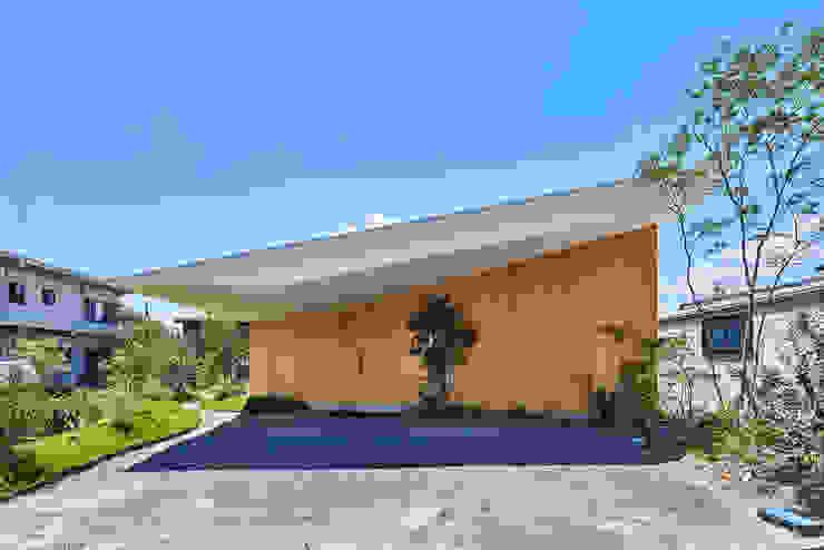 GODO 神戸町の平屋 武藤圭太郎建築設計事務所 モダンな 家