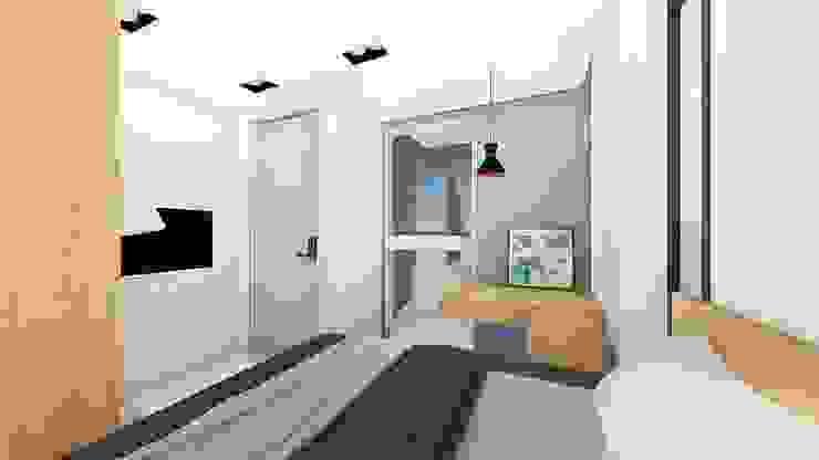 出租套房案 尋樸建築師事務所 臥室