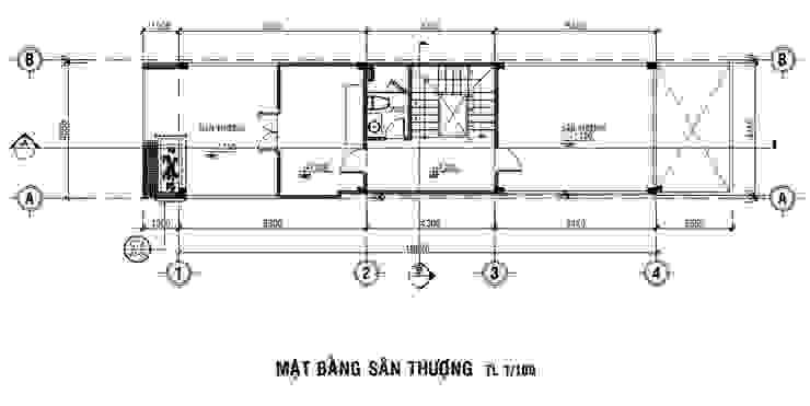 Tham Khảo Mẫu Nhà 3 Tầng Với Giá Xây Hoàn Thiện Là 1,3 Tỷ bởi Công ty Thiết Kế Xây Dựng Song Phát Châu Á