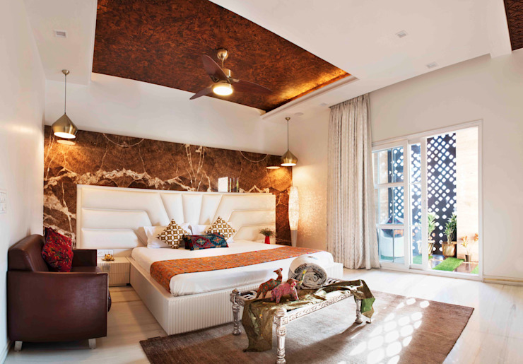 Divine Villa Modern style bedroom by VB Design Studio Modern