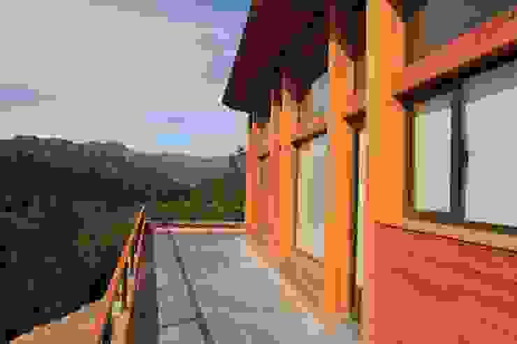 Terraza de Aguirre Arquitectura Patagonica Moderno