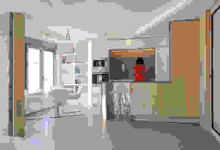 Loft 26 Kitchen units Wood Beige