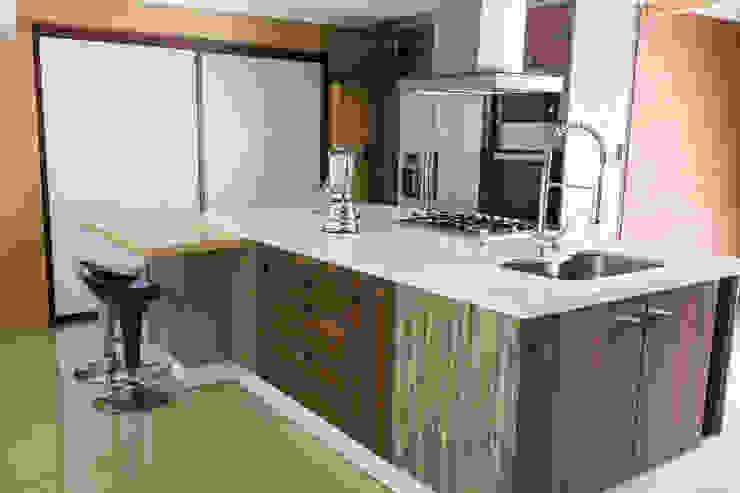 Cocina Colina:  de estilo  por Innova Design, Moderno Cuarzo