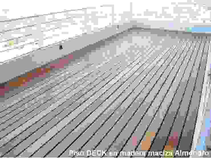 TECAS PISOS Y MADERAS SAS Balcones y terrazas de estilo clásico