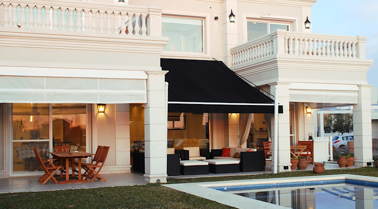 Casa San Isidro Labrador: Casas de estilo  por ARQCONS Arquitectura & Construcción,Clásico
