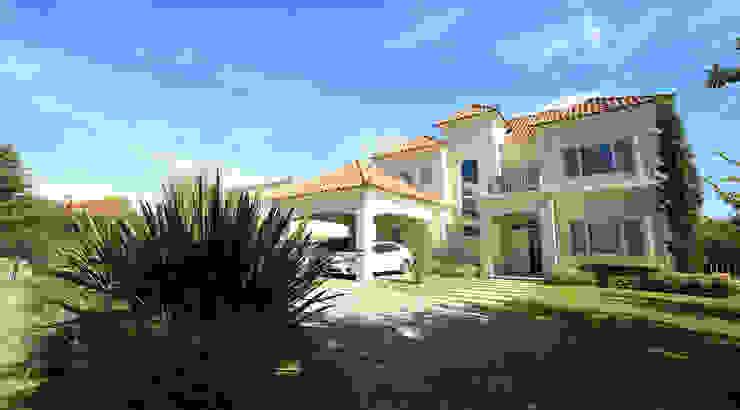 Casas de estilo  por ARQCONS Arquitectura & Construcción,