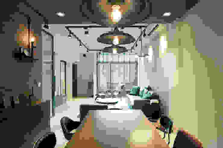 鈊楹室內裝修設計股份有限公司 Industrial style dining room