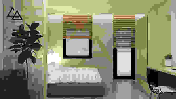 Bedroom: scandinavian  by G.A Studio , Bắc Âu