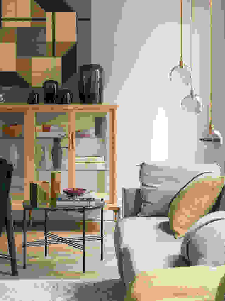 Salas modernas de The Room Studio Moderno