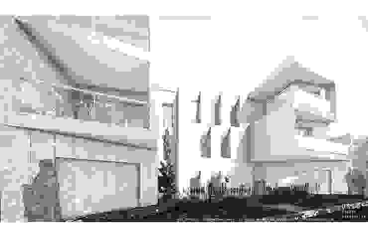 Projecto para 49 apartamentos - Arago por OGGOstudioarchitects, unipessoal lda Minimalista