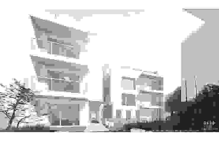Edifícios para habitação - Arago por OGGOstudioarchitects, unipessoal lda Minimalista