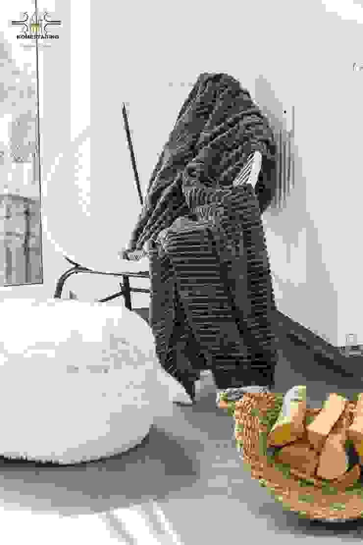 scandinavian  by HOMESTAGING Sandra Fischer, Scandinavian Synthetic Brown