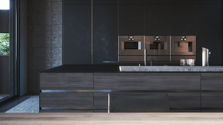 Minimalist kitchen by ANARCHY DESIGN Minimalist
