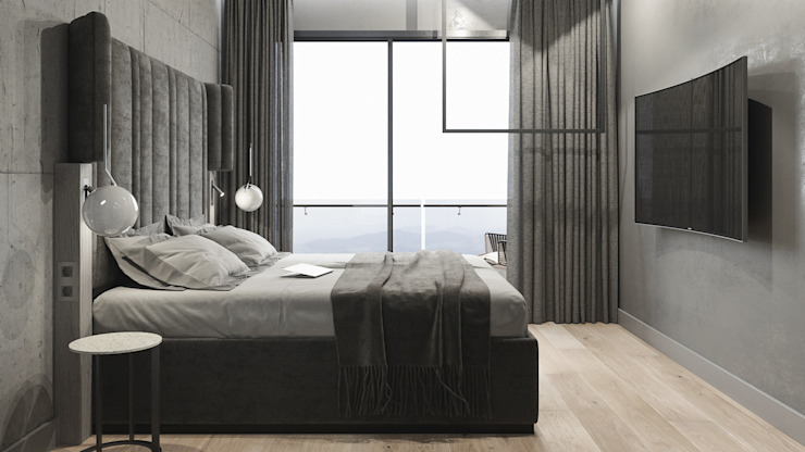 Minimalist bedroom by ANARCHY DESIGN Minimalist