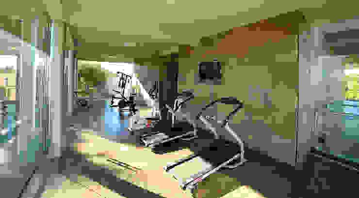 Modern gym by ARQCONS Arquitectura & Construcción Modern