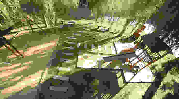 Emprendimiento Hábitat Residencias Jardines modernos: Ideas, imágenes y decoración de ARQCONS Arquitectura & Construcción Moderno