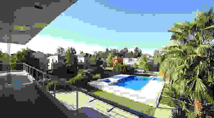 Modern pool by ARQCONS Arquitectura & Construcción Modern