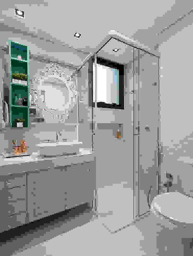 Banheiro Banheiros modernos por Espaço do Traço arquitetura Moderno
