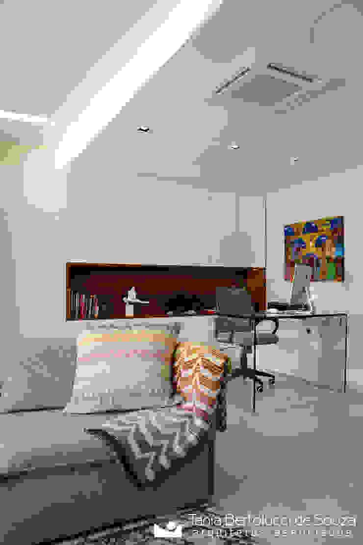 Sala de Estar e Home Office Salas de estar modernas por Tania Bertolucci de Souza | Arquitetos Associados Moderno