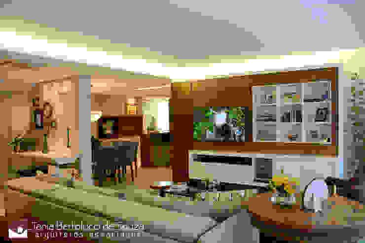 Modern living room by Tania Bertolucci de Souza | Arquitetos Associados Modern