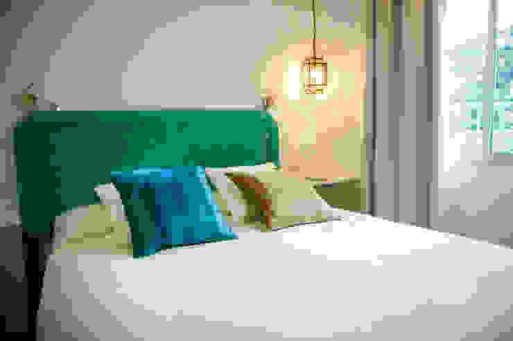 Detalle dormitorio principal DC PROJECTS Diseño de interior Málaga Dormitorios de estilo moderno