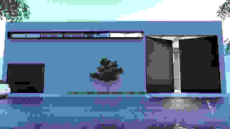 V Arquitectura Minimalist houses White