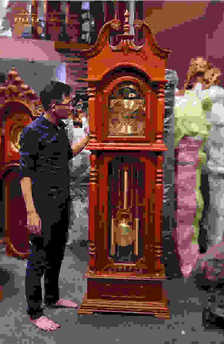 Ảnh thật sản phẩm đẹp sắc nét: mộc mạc  by Cửa hàng bán đồng hồ cây gỗ cao cấp ở Hà Nội, Mộc mạc