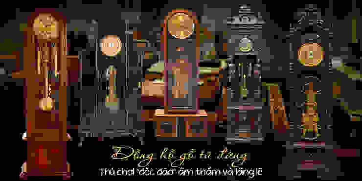 Tham khảo thêm các mẫu đồng hồ gỗ đẹp khác: tối giản  by Cửa hàng bán đồng hồ cây gỗ cao cấp ở Hà Nội, Tối giản