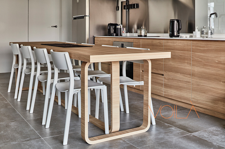 Built-in kitchens by homify, Industrial