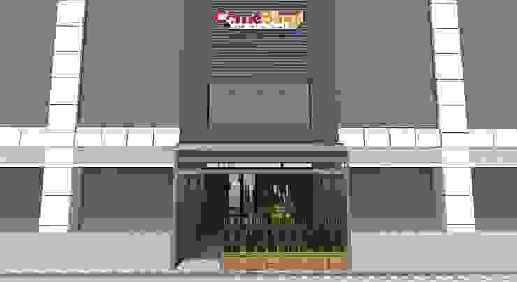 COME BING! RESTO:industri  oleh IFAL arch, Industrial Aluminium/Seng