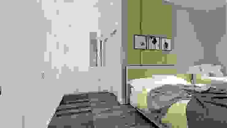APARTMENT BSD Kamar Tidur Klasik Oleh IFAL arch Klasik Kayu Wood effect