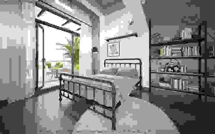 Thiết kế nội thất nhà phố HO1845 bởi Bel Decor