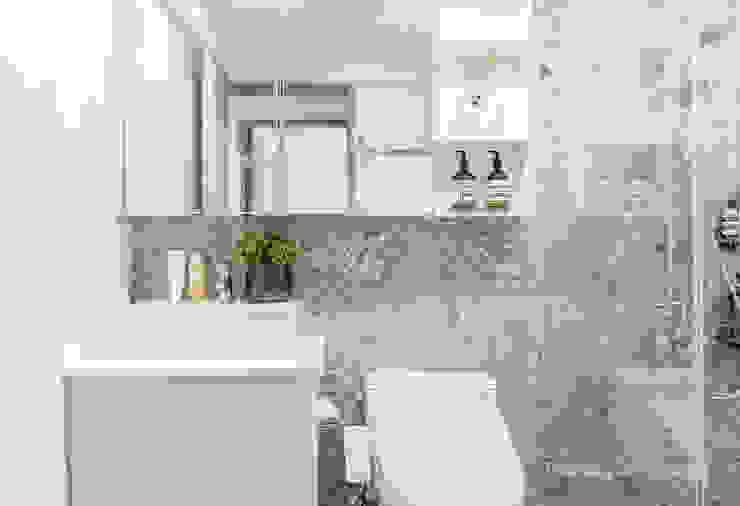 板橋施公館:  浴室 by VH INTERIOR DESIGN,