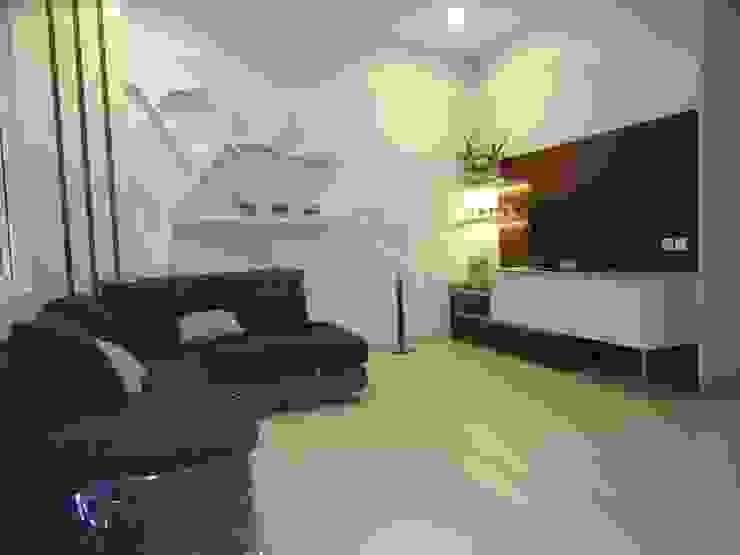 livingroom set:modern  oleh luxe interior , Modern Kayu Lapis