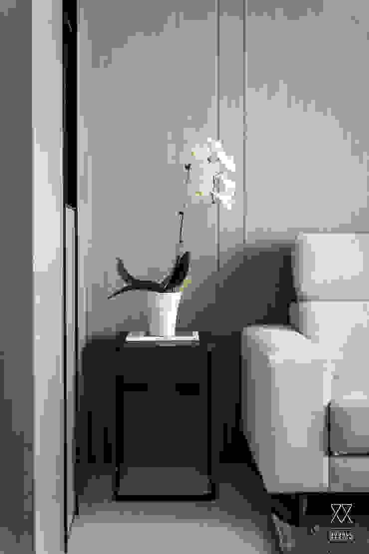 双設計建築室內總研所 Modern living room