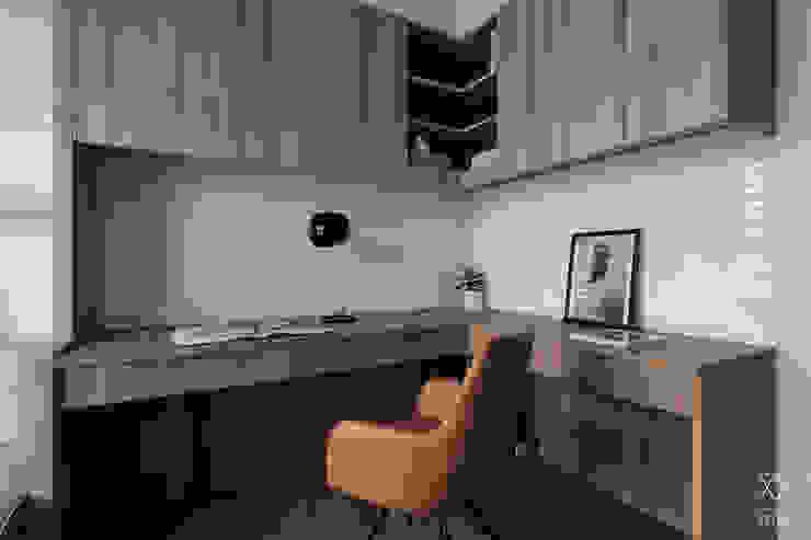 双設計建築室內總研所 Modern study/office
