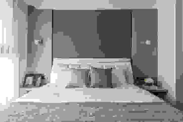 双設計建築室內總研所 Modern style bedroom