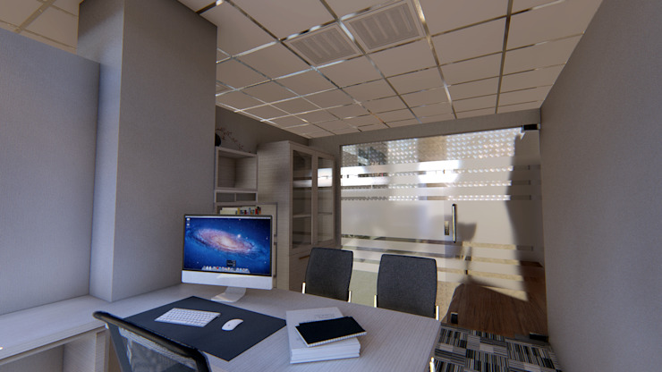 KEMENKES OFFICE Ruang Studi/Kantor Minimalis Oleh IFAL arch Minimalis Kayu Wood effect