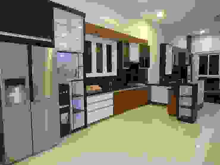 Pantry dan livingroom set:modern  oleh luxe interior , Modern Kayu Lapis