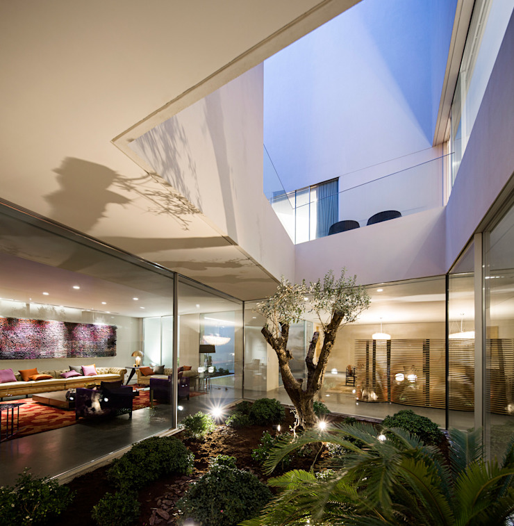 Modern conservatory by AGi architects arquitectos y diseñadores en Madrid Modern