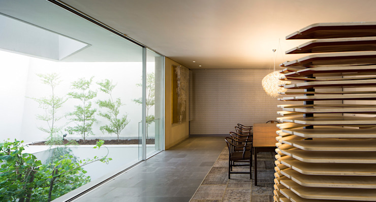 Modern dining room by AGi architects arquitectos y diseñadores en Madrid Modern
