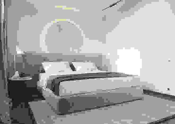 Dormitorios de estilo ecléctico de ANARCHY DESIGN Ecléctico Piedra