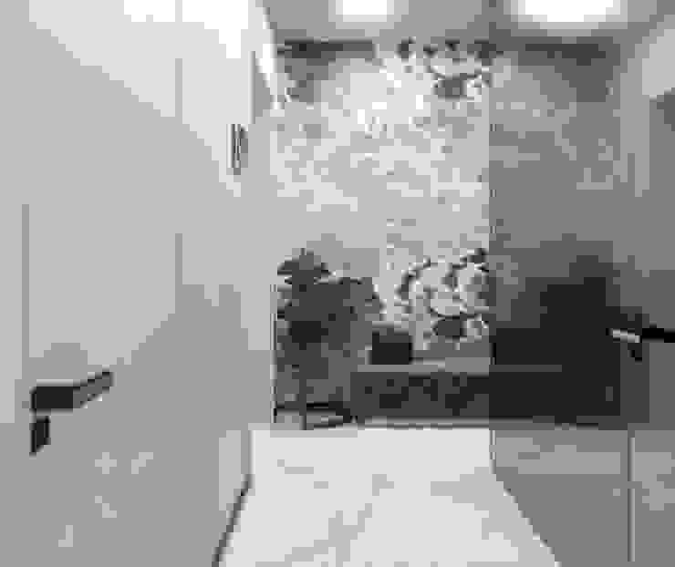 Pasillos, vestíbulos y escaleras de estilo ecléctico de ANARCHY DESIGN Ecléctico Piedra