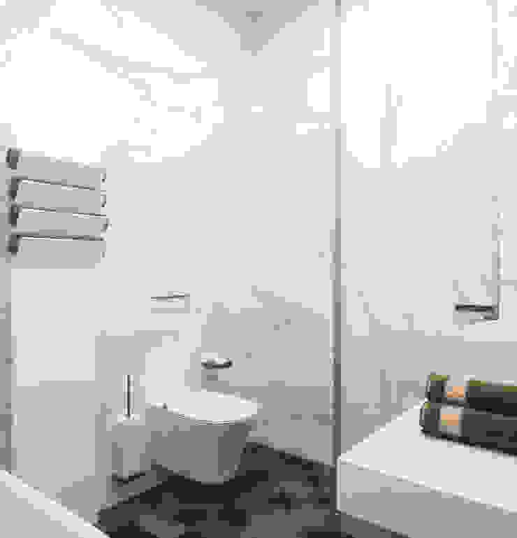 Baños de estilo ecléctico de ANARCHY DESIGN Ecléctico Piedra